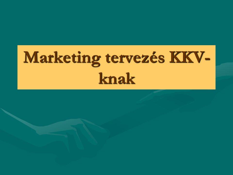 Marketing tervezés KKV- knak