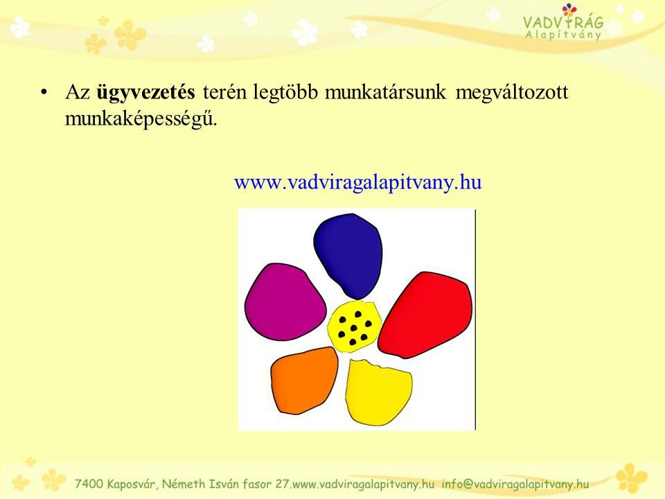 Köszönjük a figyelmet és a bizalmat! Örömmel várunk! www.vadviragalapitvany.hu