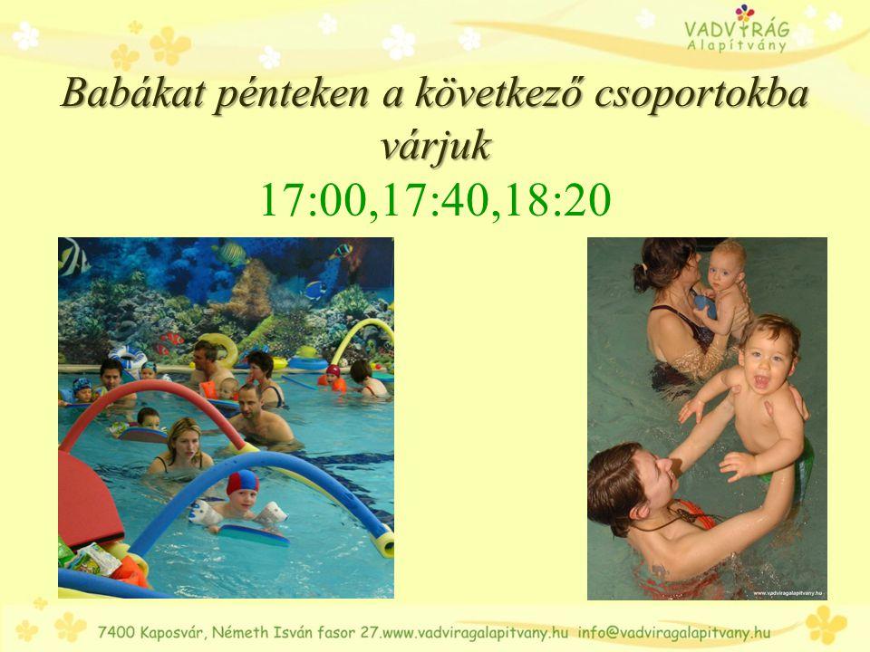 Ovisokat is nagy szeretettel és szakértelemmel várjuk Ovisokat is nagy szeretettel és szakértelemmel várjuk Hétfőn: 17:00-kor, haladók: 18:00-kor, Pénteken: 16:00- kor