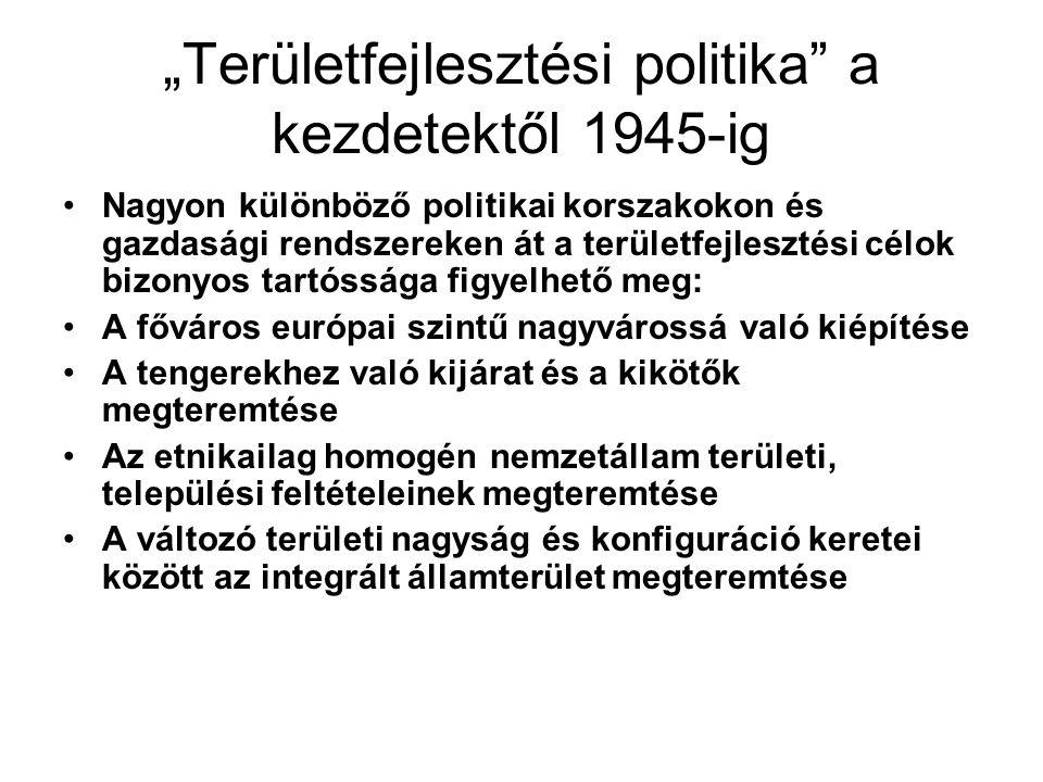 Fővárosok kiépítése A mai balkáni fővárosok a 19.szd.