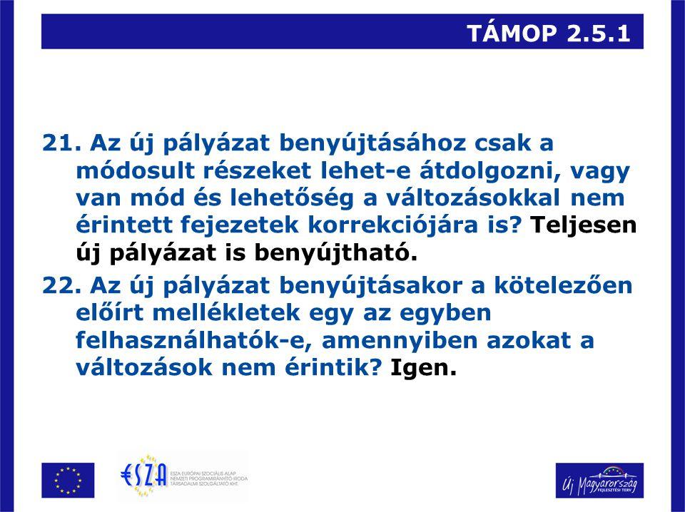 TÁMOP 2.5.1 21.