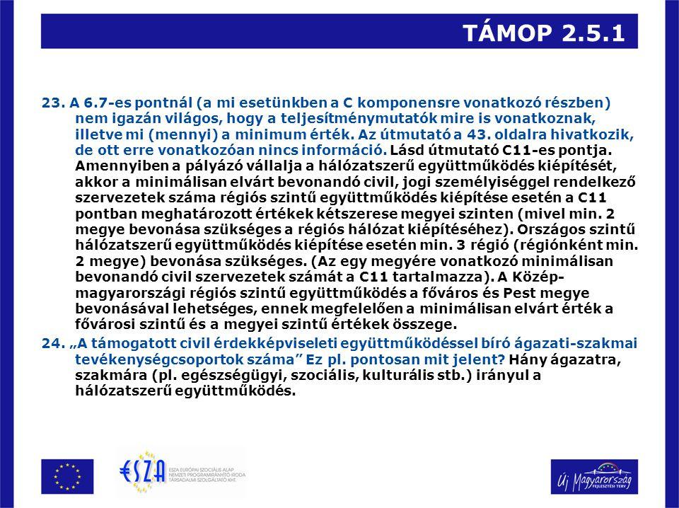 TÁMOP 2.5.1 23.
