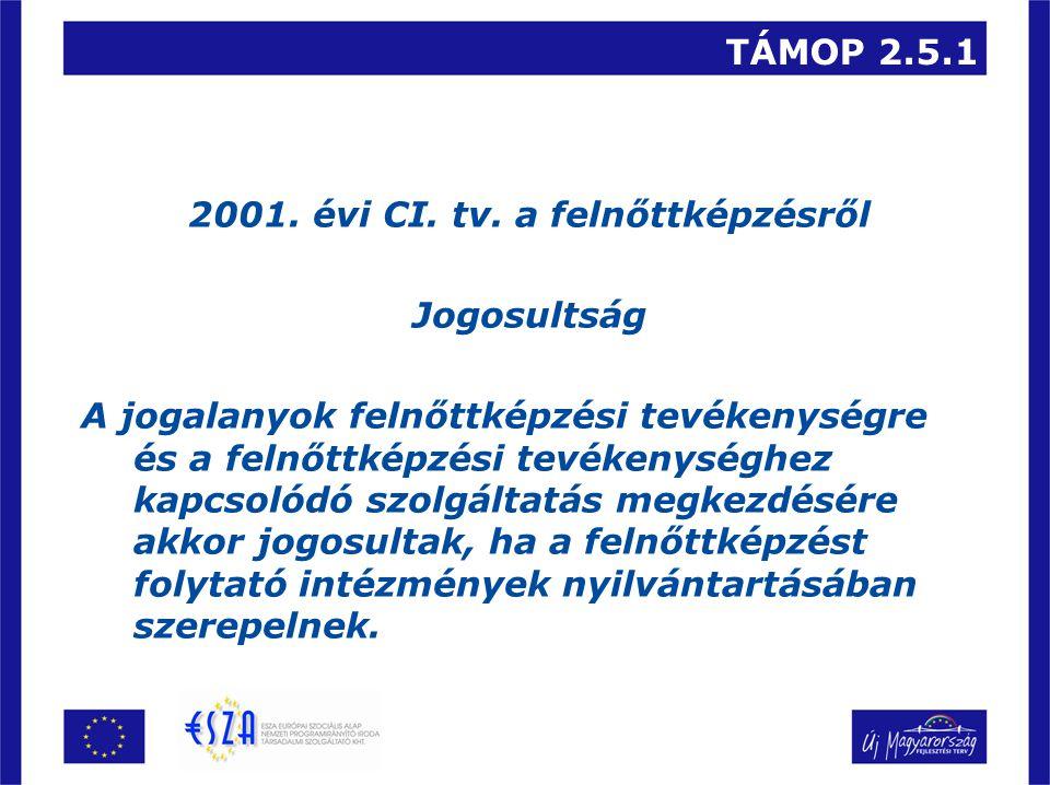TÁMOP 2.5.1 4.