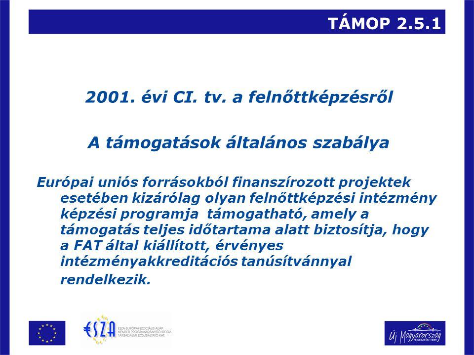 TÁMOP 2.5.1 6.Pályázatok benyújtása A pályázatok benyújtása 2008.