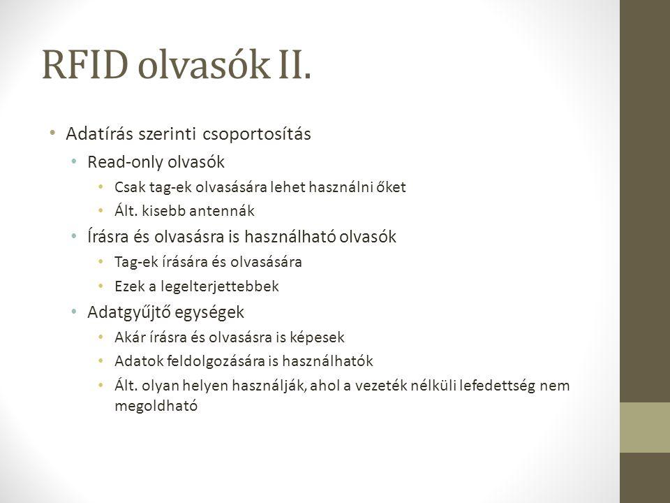 RFID olvasók II.
