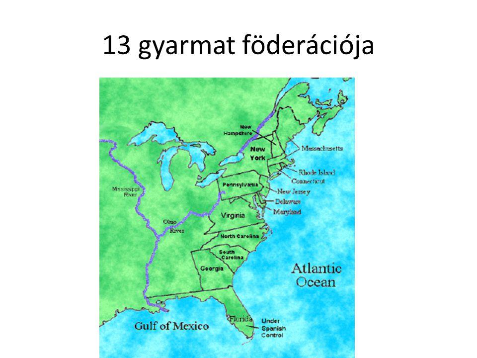 13 gyarmat föderációja