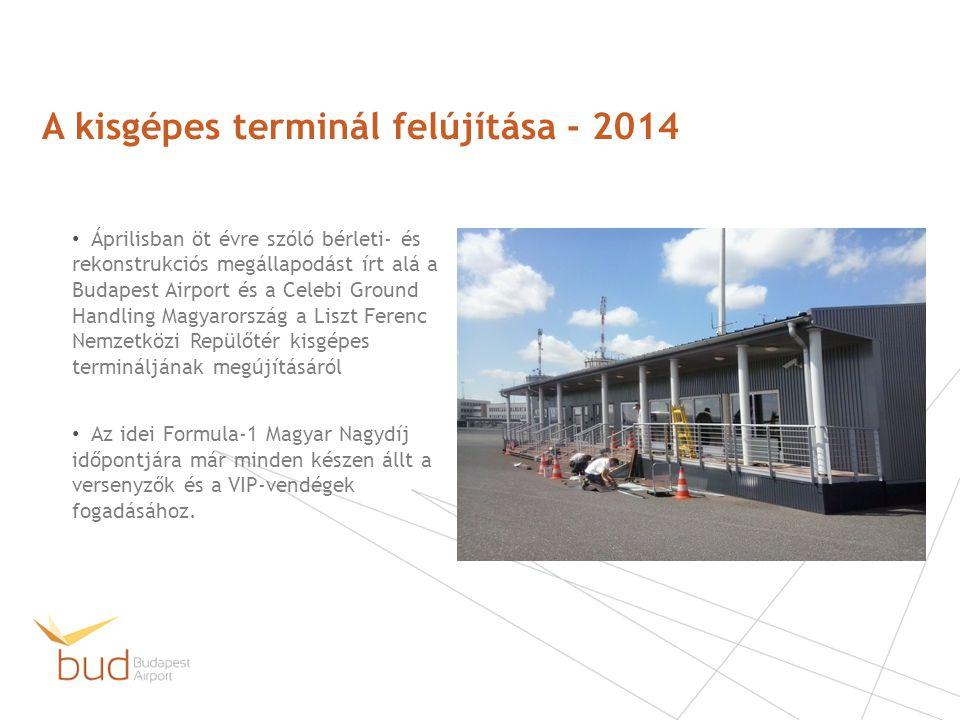 Áprilisban öt évre szóló bérleti- és rekonstrukciós megállapodást írt alá a Budapest Airport és a Celebi Ground Handling Magyarország a Liszt Ferenc N