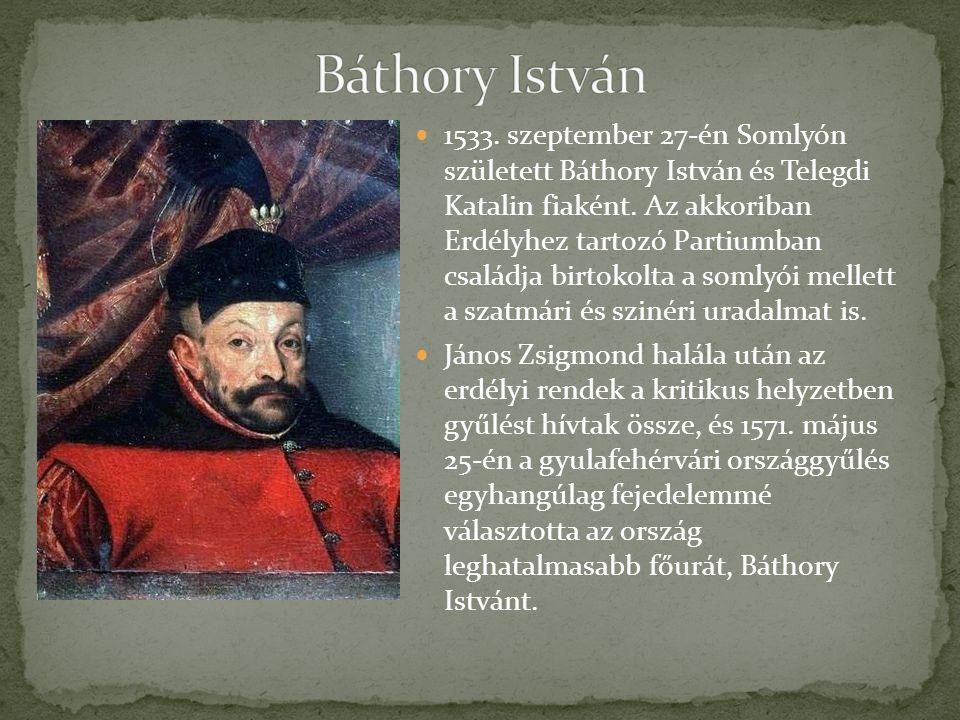 1533.szeptember 27-én Somlyón született Báthory István és Telegdi Katalin fiaként.