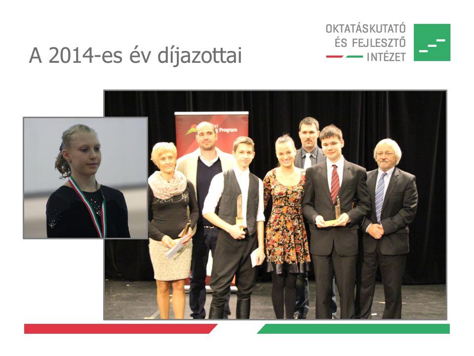 A 2014-es év díjazottai