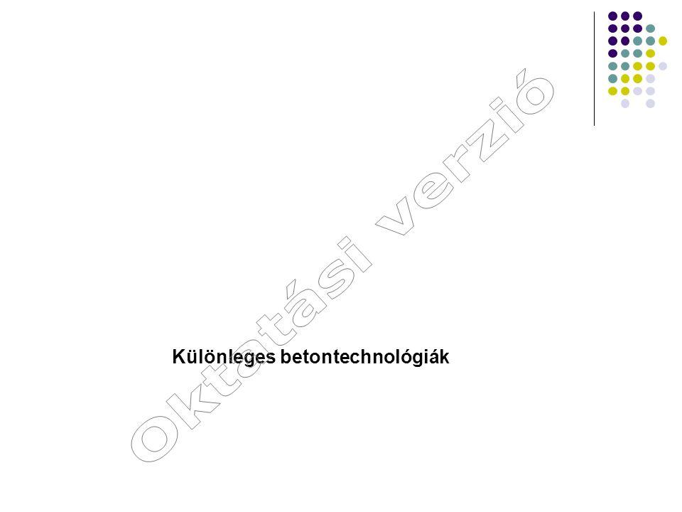 Felhasznált irodalom Dr.techn Zsigovics István – Öntömörödő beton PhD értekezés Dr.