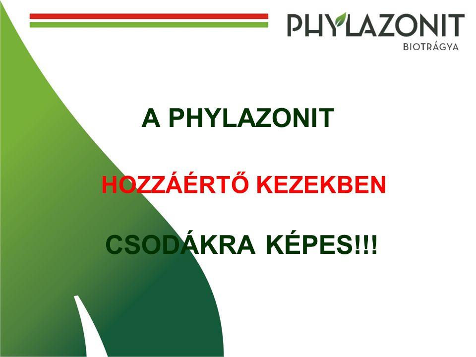 A PHYLAZONIT CSODÁKRA KÉPES!!! HOZZÁÉRTŐ KEZEKBEN