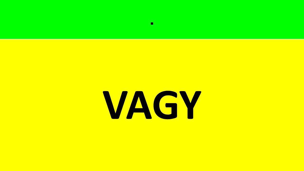 . VAGY