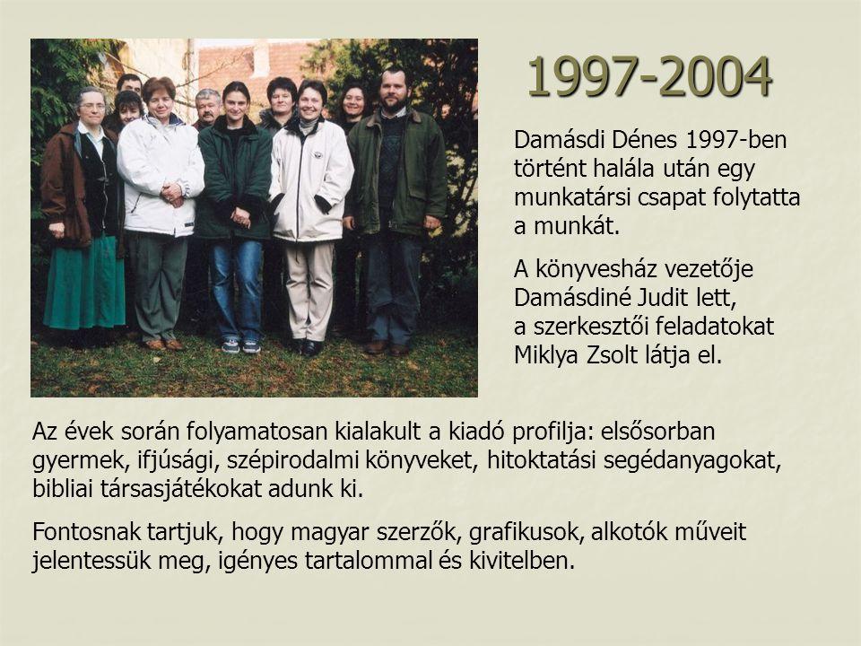 Damásdi Dénes 1997-ben történt halála után egy munkatársi csapat folytatta a munkát.
