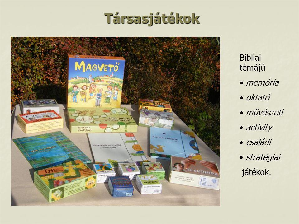 Társasjátékok Bibliai témájú memória oktató művészeti activity családi stratégiai játékok.