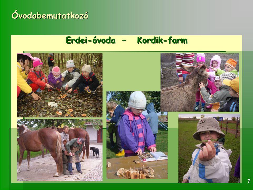 Óvodabemutatkozó 7 Erdei-óvoda – Kordik-farm