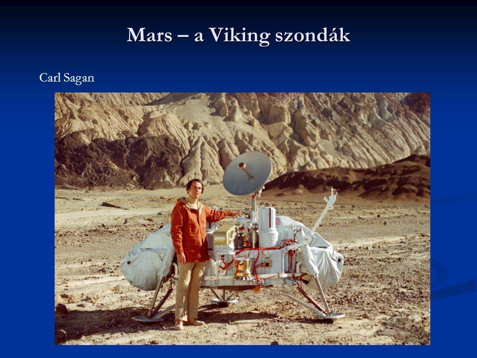 Mars – a Viking szondák Carl Sagan