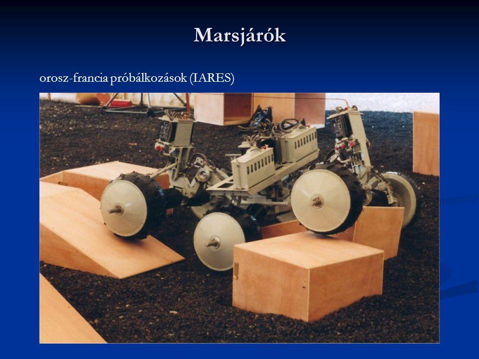 Marsjárók orosz-francia próbálkozások (IARES)