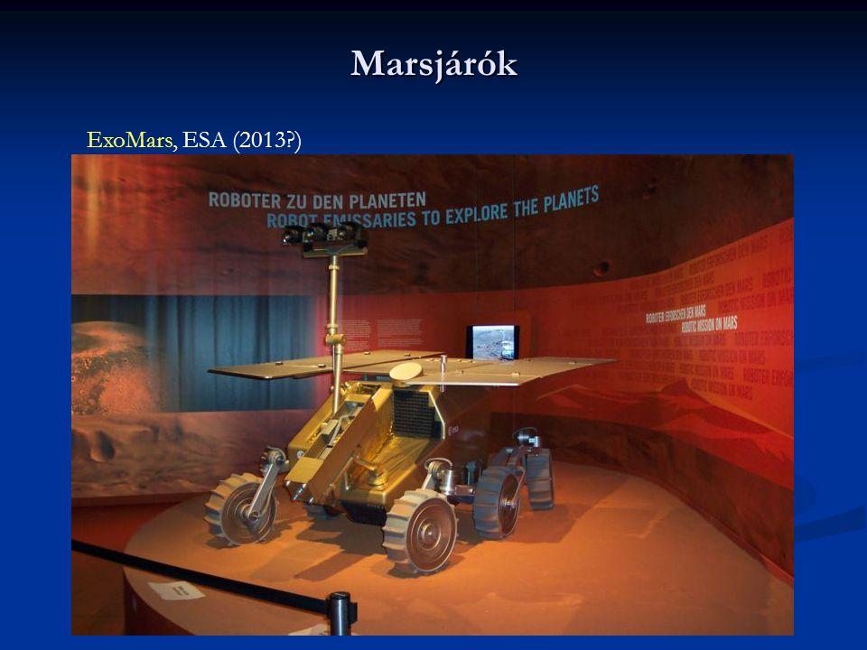 Marsjárók ExoMars, ESA (2013?)