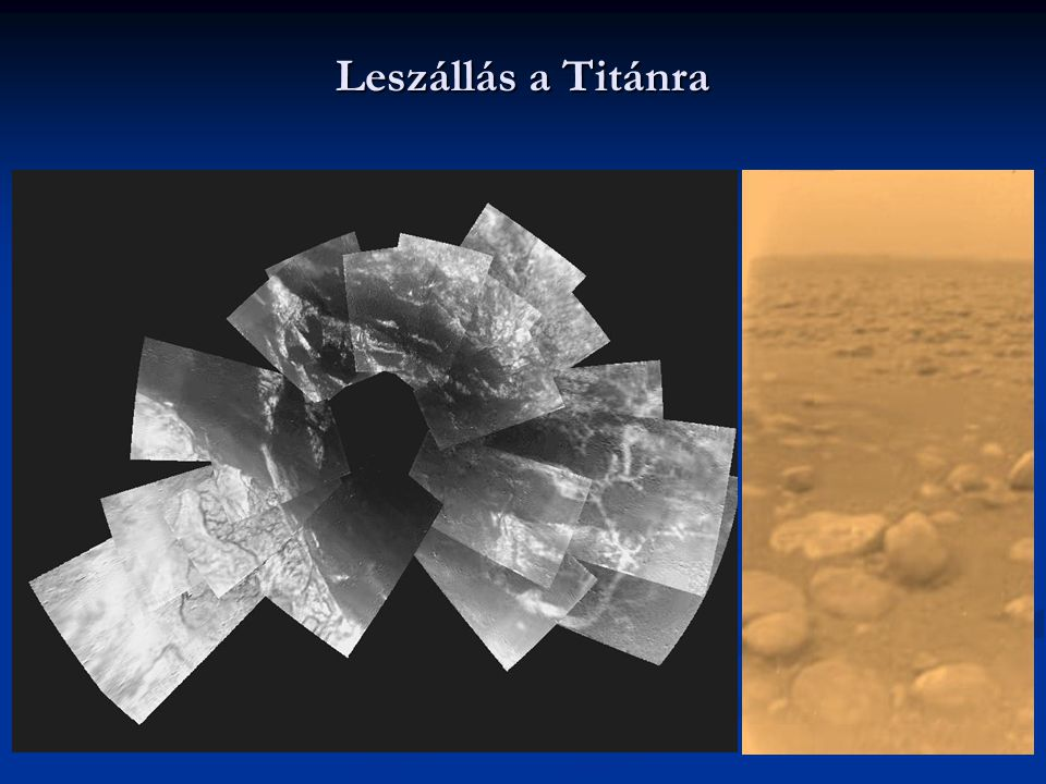 Leszállás a Titánra