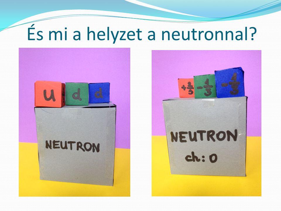 És mi a helyzet a neutronnal?