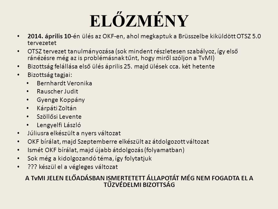 ELŐZMÉNY 2014.