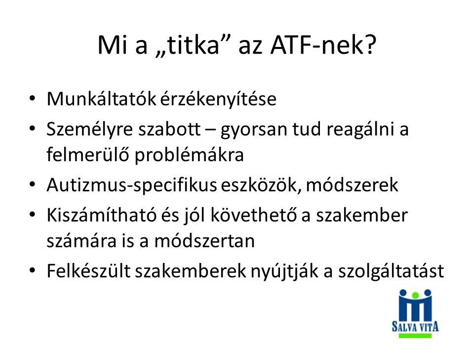 """Mi a """"titka az ATF-nek."""