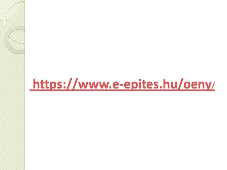 https://www.e-epites.hu/oeny / https://www.e-epites.hu/oeny /