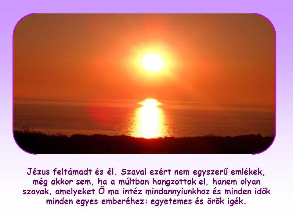 Jézus szava lélek és élet, mert az égből származik: fény, amely a magasból száll alá, és magasságbeli hatalma van.