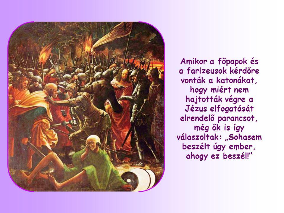 Jézus Isten Országáról beszélt az összegyűlt tömegnek.