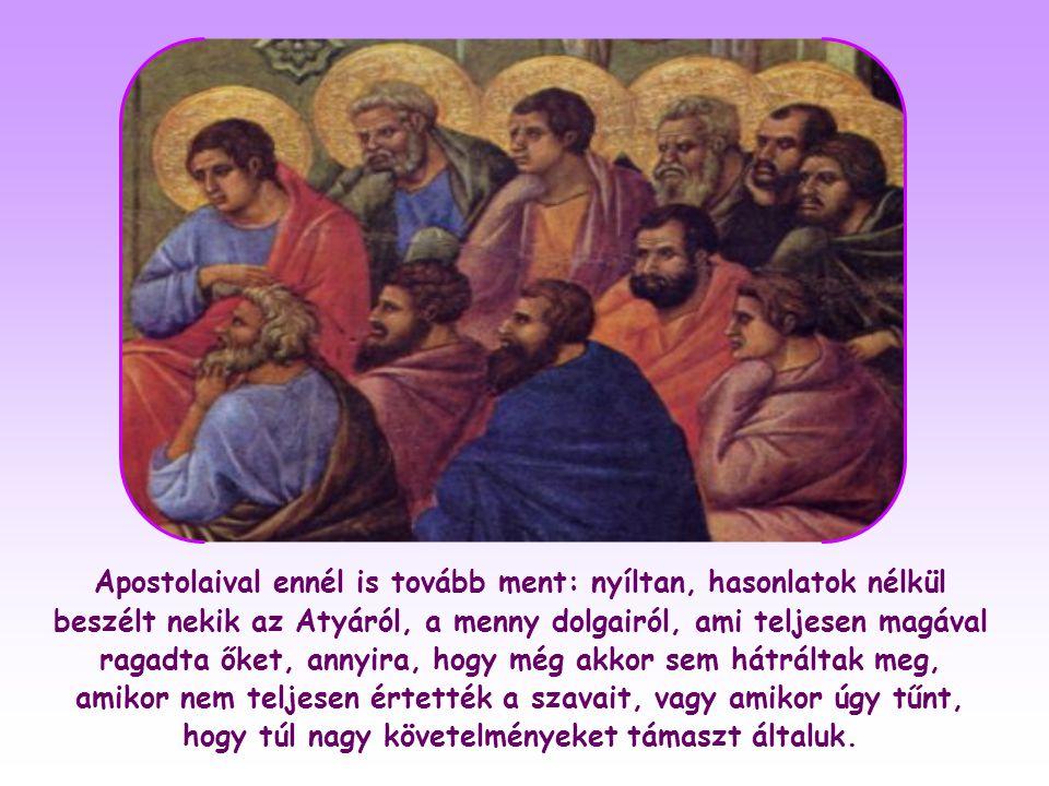 János evangéliuma beszámol néhány fénnyel teli beszélgetésről is, mint például amelyet Jézus Nikodémussal vagy a szamariai asszonnyal folytatott.