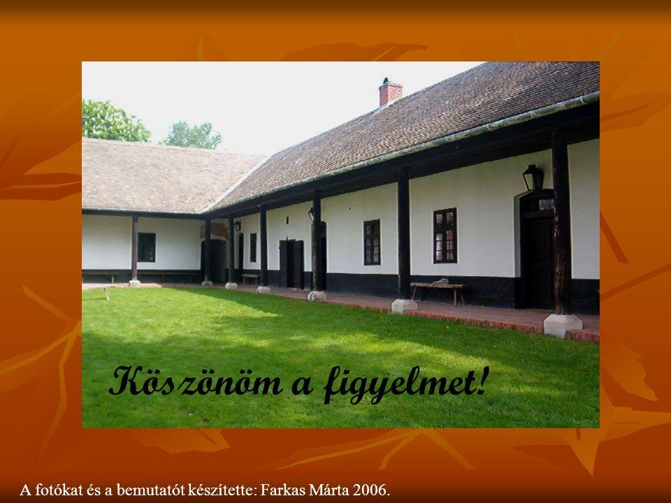 Mindenkit sok szeretettel hívunk és várunk Szalkszentmártonba a Petőfi Emlékmúzeumba! A fotókat és a bemutatót készítette: Farkas Márta 2006. Köszönöm