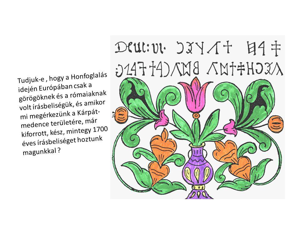 Tudjuk-e, hogy az Ómagyar Mária- siralom szövegét mi még a mai napig értjük, hiszen szókincsét, mind a mai napig használjuk.