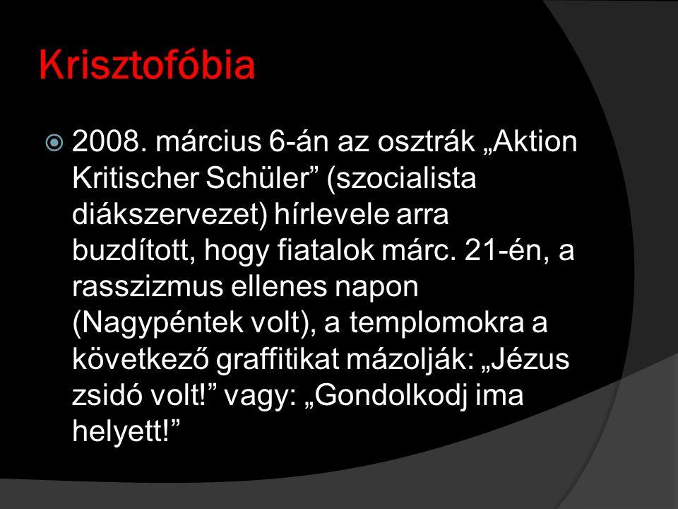 Krisztofóbia  2008.