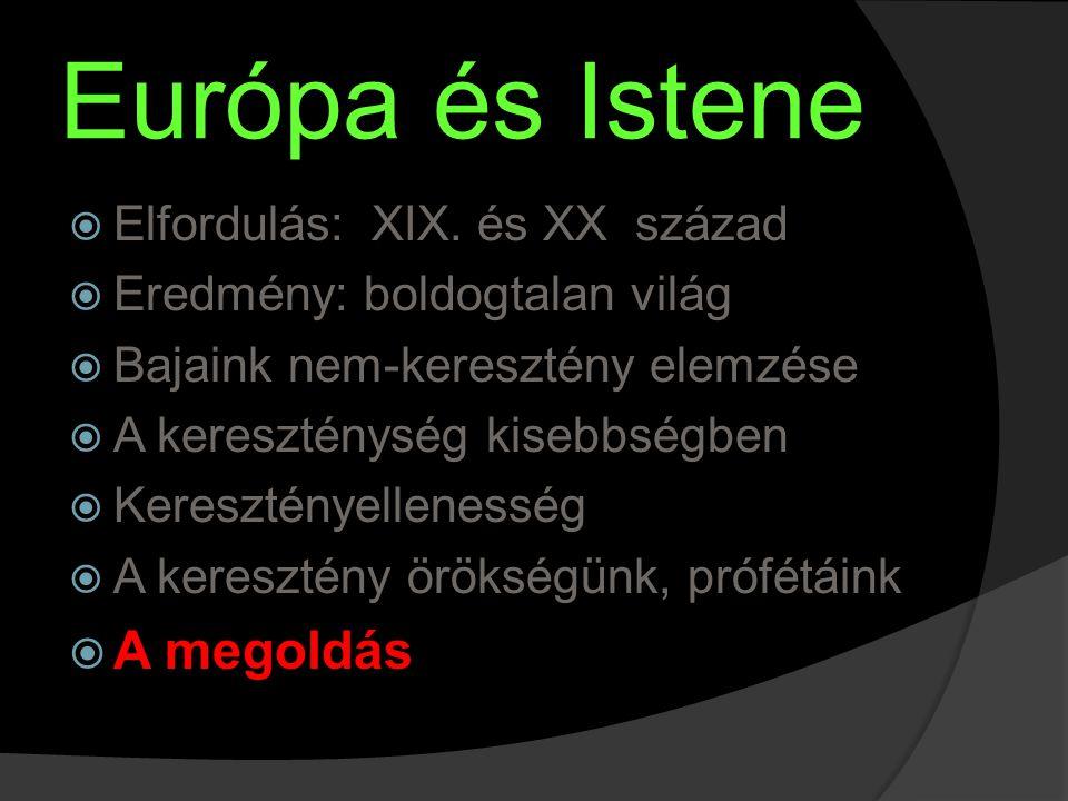 Európa és Istene  Elfordulás: XIX.