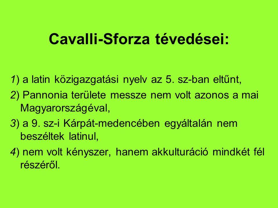 l Guglielmino és szerzőtársai (Béres Judit) a magyar ethnogenezisről ellenvetés: 1) történeti problémák leegyszerűsítése, 2) amatőr munkákra hivatkozás, 3) módszertani, néprajzi és politikai tájékozatlanság.