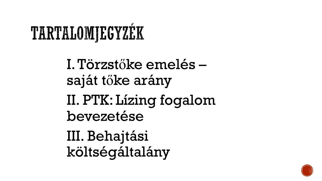 PTK el ő írása:  Az új Ptk.( 2013. évi V.