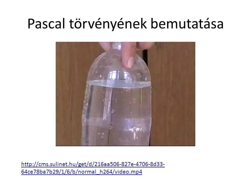 Pascal törvényének bemutatása http://cms.sulinet.hu/get/d/216aa506-827e-4706-8d33- 64ce78ba7b29/1/6/b/normal_h264/video.mp4