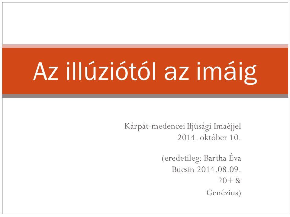Kárpát-medencei Ifjúsági Imaéjjel 2014. október 10.