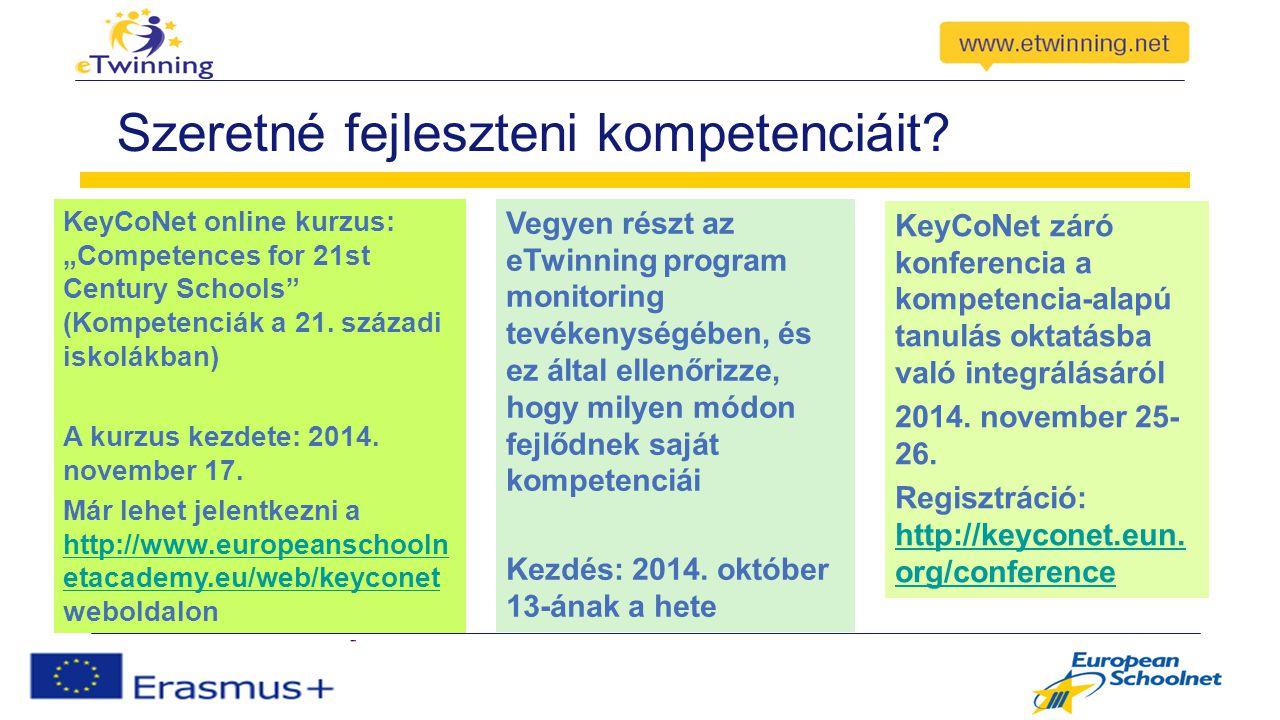 """Szeretné fejleszteni kompetenciáit? KeyCoNet online kurzus: """"Competences for 21st Century Schools"""" (Kompetenciák a 21. századi iskolákban) A kurzus ke"""