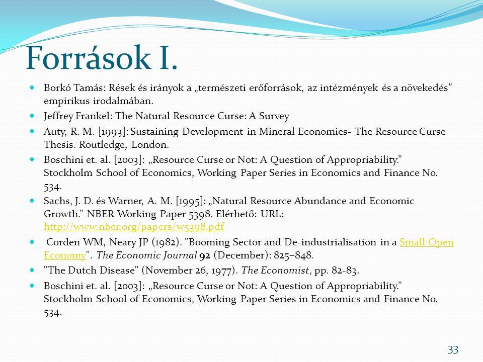 Források I.