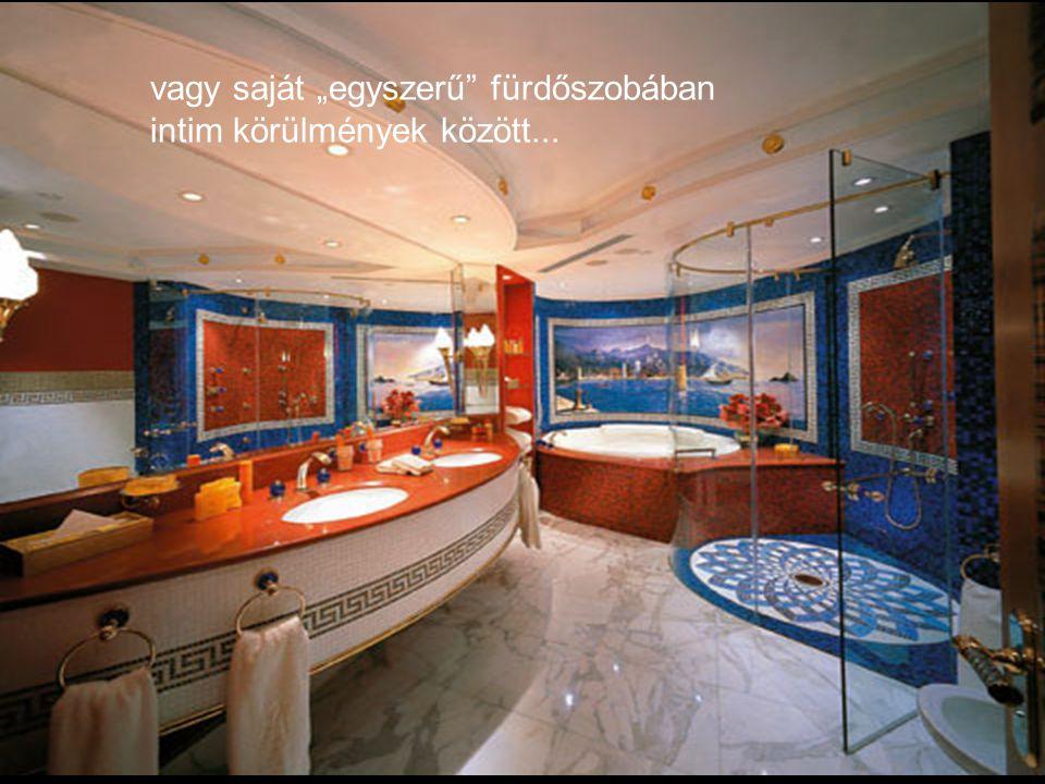 Ha már itt van, fürödhet ebben a remek uszodában....