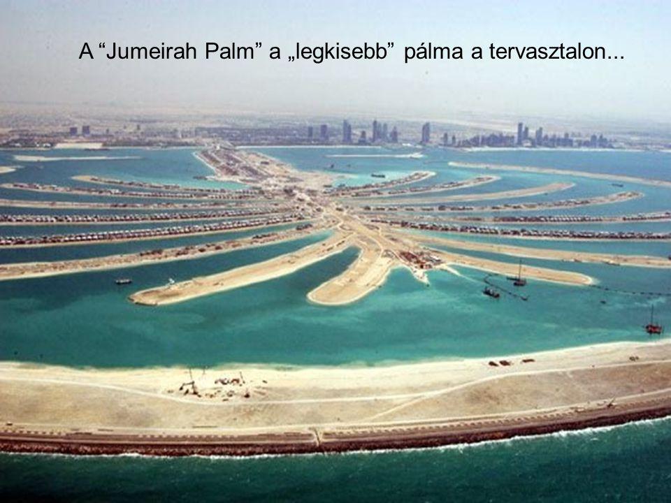 """Ez a """"Marina Dubai"""" tervezete 5. """"Los jardines de Alá"""" 6. """"Las Islas Jumeirah"""" 7. Torres del Lago Jumeirah 8. Ciudad Internacional de Dubai 1. La Palm"""