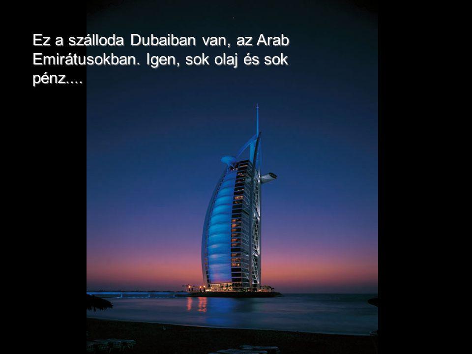 Ez a Burj Al Arab, a világ egyetlen 7 csillagos szállodája, amely 18 hónap alatt épült fel