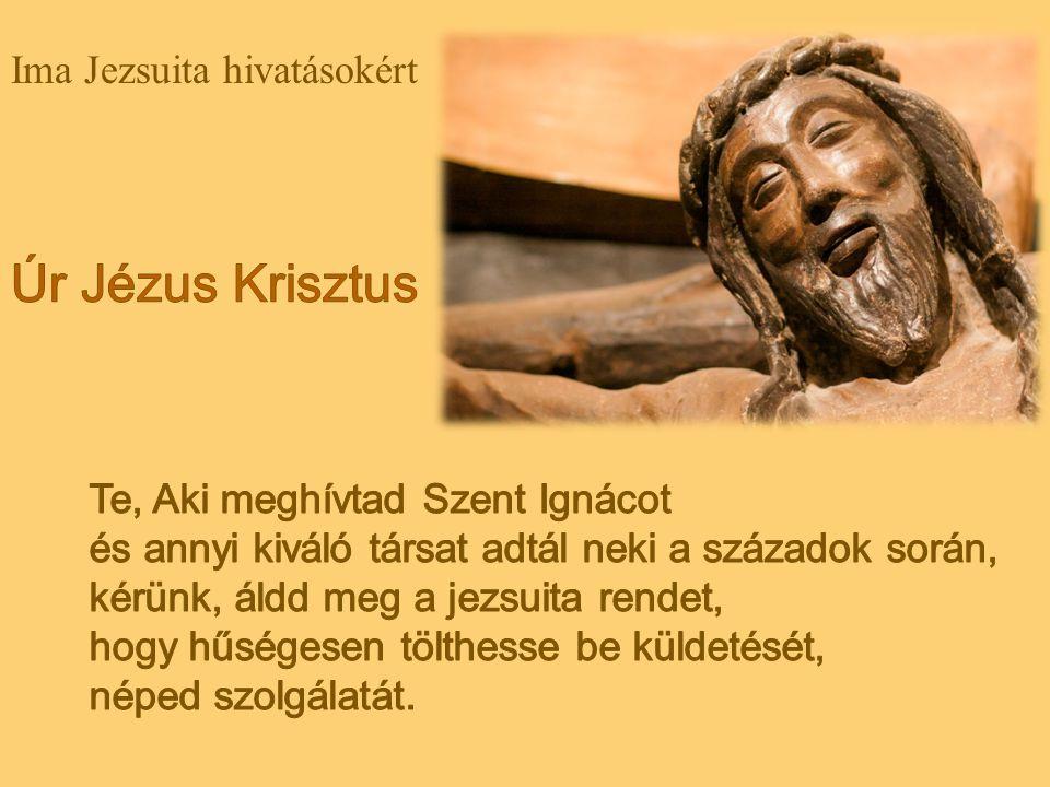 Kérünk, áldd meg a Társaság atyáit, hogy Téged lelkesen hirdethessenek.