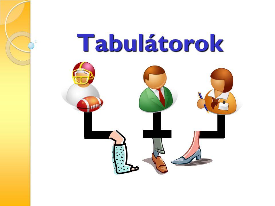 Tabulátorok