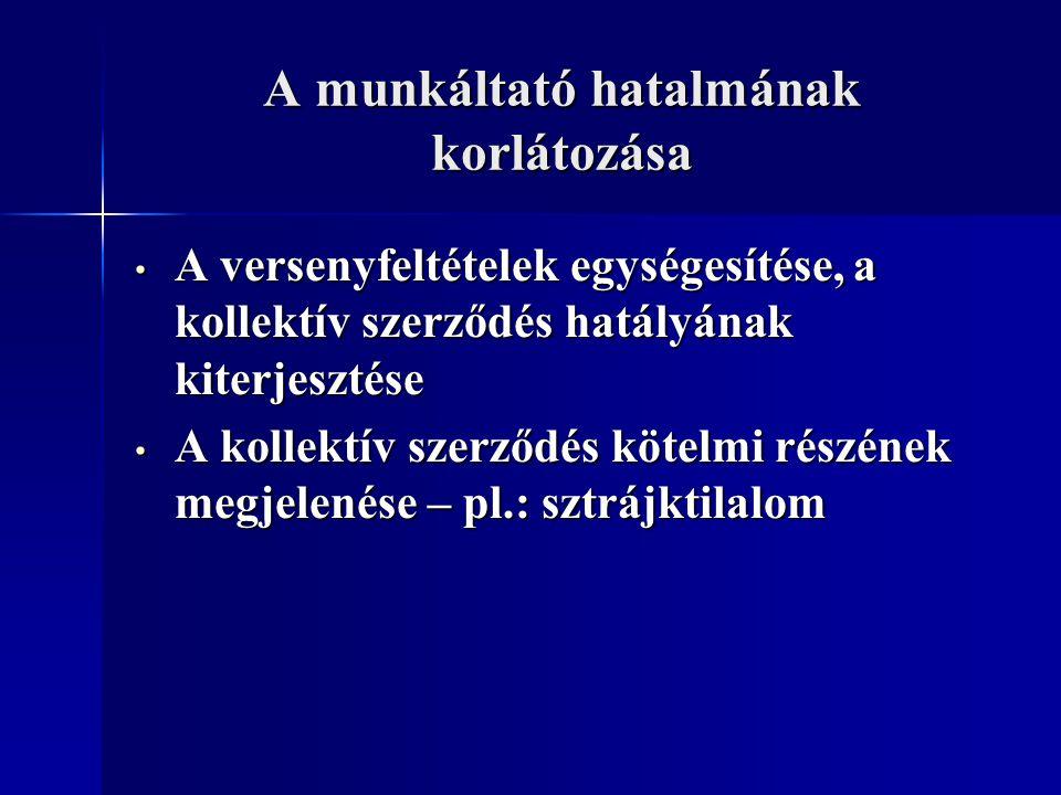 A magyar történeti fejlődés az első kollektív szerződés 1848-ban: Nyomdaipari Árjegyzék – nemzetközi összehasonlításban is korai megjelenés az első kollektív szerződés 1848-ban: Nyomdaipari Árjegyzék – nemzetközi összehasonlításban is korai megjelenés egyebekben nincsen kiemelkedő szabályozás és joggyakorlat, így például: egyebekben nincsen kiemelkedő szabályozás és joggyakorlat, így például: