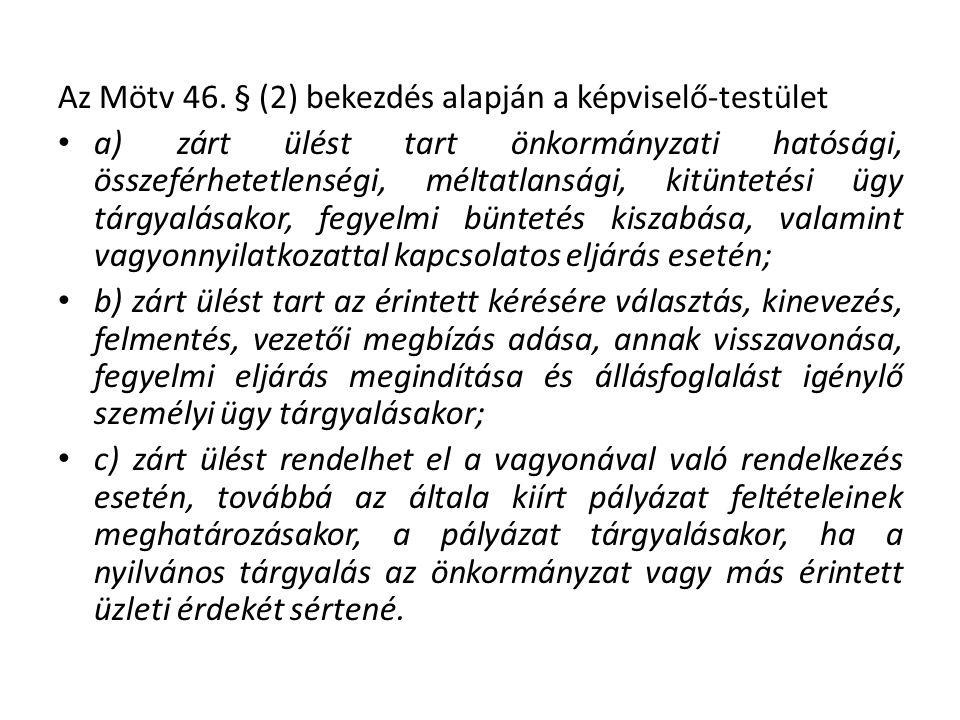Az Mötv 46.