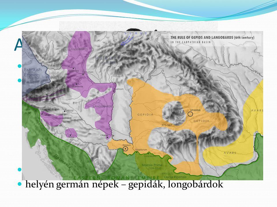 A Római Birodalom bukása után Kr.u. V. század – népvándorlás hunok hódítása Kínától északra eső területről indultak meg a IV. század elején nomád biro