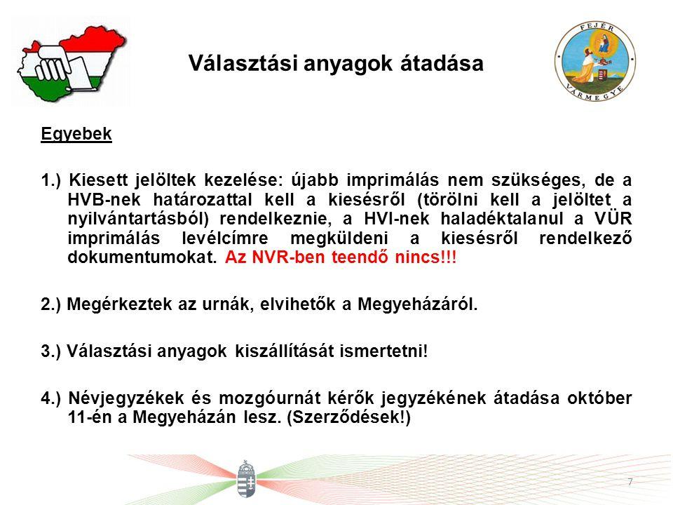 Köszönöm a figyelmet! Dr. Kovács Zoltán a TVI vezetője 8