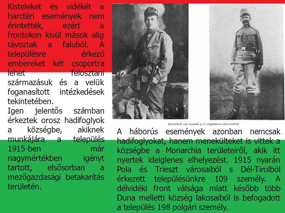 1916-ban Románia antanthatalmak oldalán történt hadba lépésével a Monarchia erdélyi részei is vagy hadműveleti, vagy felvonulási területekké változtak.